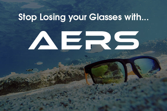 Stop Losing Your Glasses with AERS Adjustable Eyewear Retainer by Rush Eyewear Co.