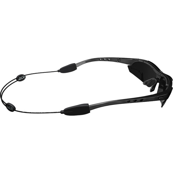 Rush AERS (Adjustable Eyewear Retention System) - Black Eyewear Retainer - Rush Eyewear Co.