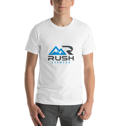Short-Sleeve Unisex Rush Eyewear T-Shirt Eyewear Retainer - Rush Eyewear Co.