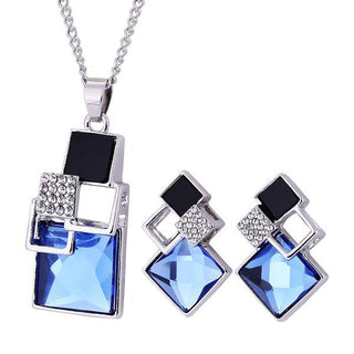 Square Geometry Jewelry Sets
