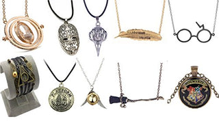 10 Pack Harry Potter Pendant Necklaces