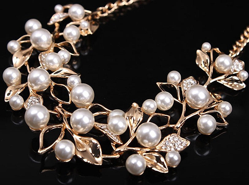 Match-Right Simulated Pearl Necklaces & Pendants