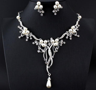 Bridal Rhinestone Wedding Jewelry Sets