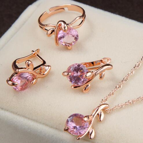 Wedding Crystal Fashion Jewelry Set