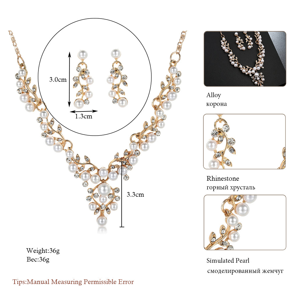 Fashion Simulated Pearl Flower Accessories