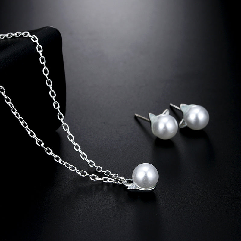 Cute Fashion Simulated Pearl Jewelry
