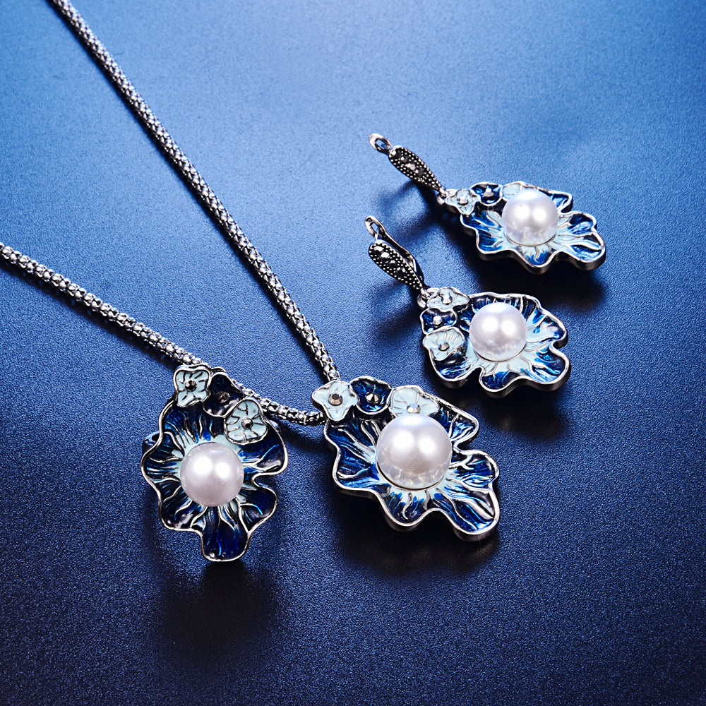 Flower Jewelry Sets