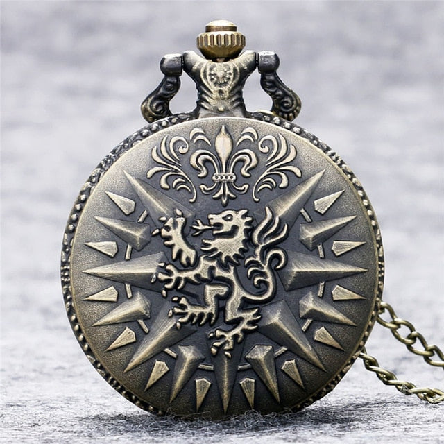 Game of Thrones Design Pocket Watch