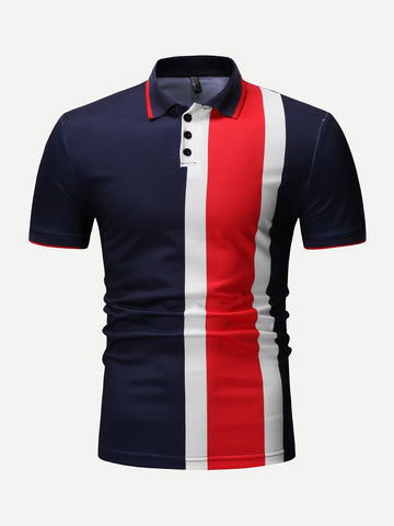 Envie Men Multicolor Essien Polo