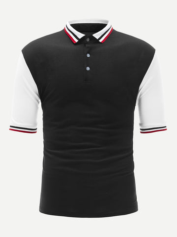 Envie Men Colorblock Declan Polo