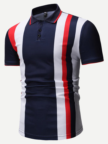 Envie Men Colorblock Cayden Polo