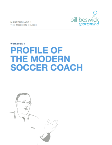 Masterclass 1: The Modern Coach