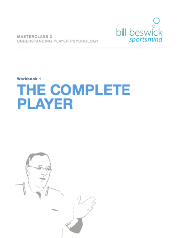 Masterclass 2: Understanding Player Psychology