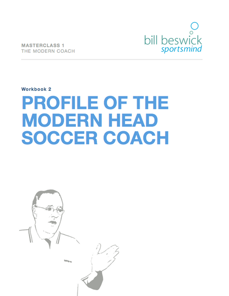 Profile Of The Modern Head Soccer Coach