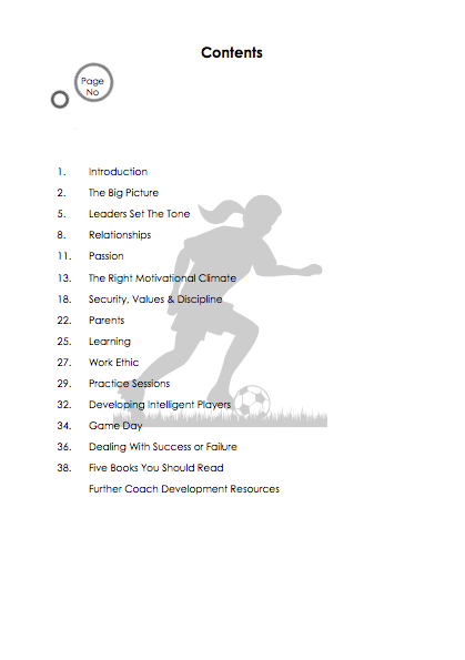 Handbook 3 - The Perfect Coaching Environment for Young Players