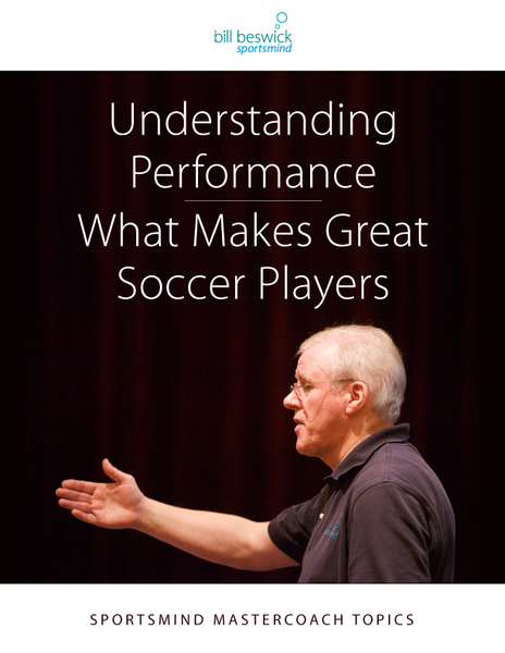 Understanding Performance: What Makes Great Soccer Players