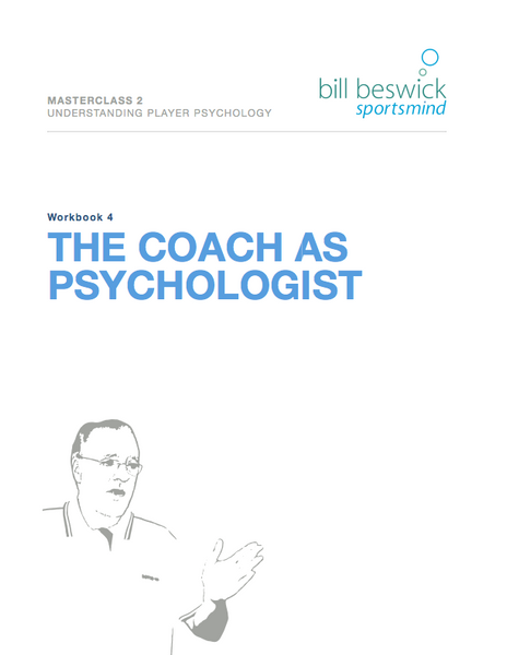 The Coach As Psychologist