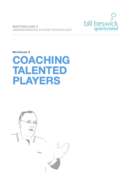 Coaching Talented Players