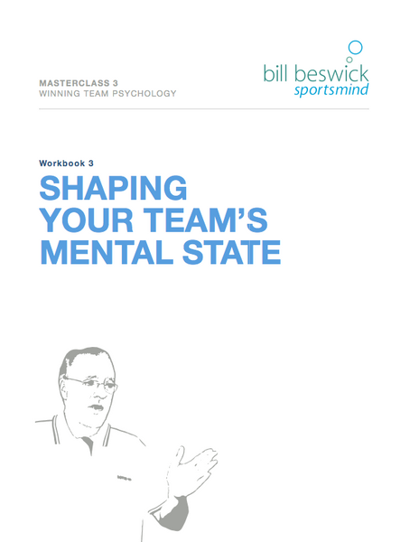Shaping Your Team's Mental State
