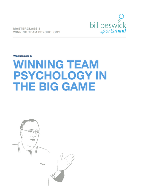 Winning Team Psychology In The Big Game