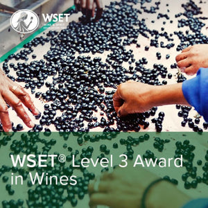 WSET LEVEL 3 AWARD IN WINES - ONLINE