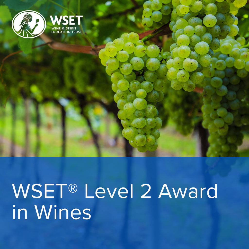 WSET LEVEL 2 AWARD IN WINES - ONLINE