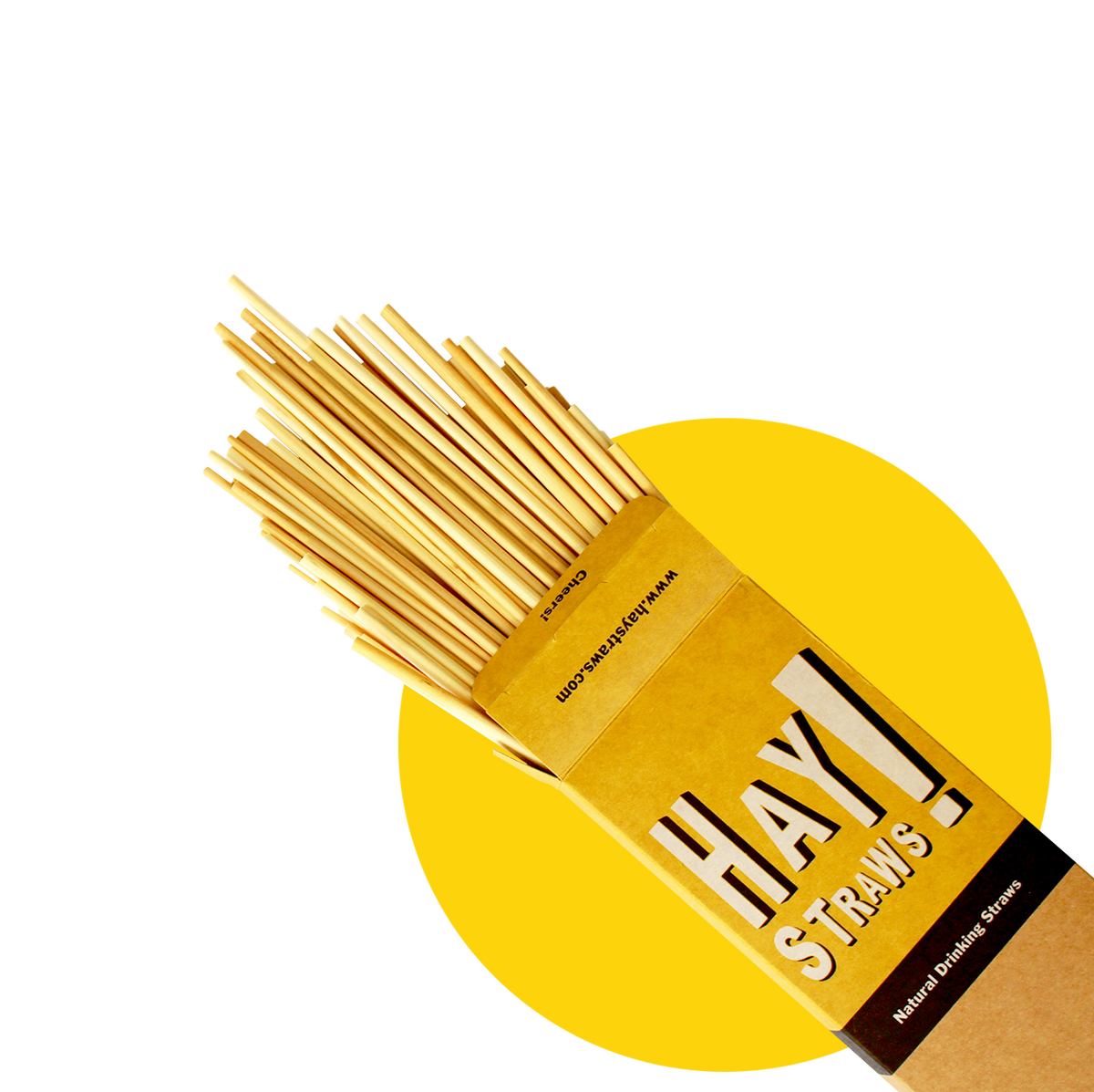 HAY Straws, natural drinking straws, wheat drinking straws
