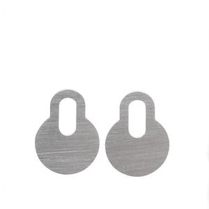 Padlock Earrings (small)
