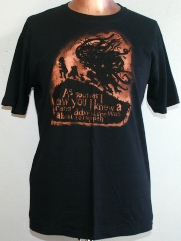 Grand Adventure T-Shirt - Black (Large)