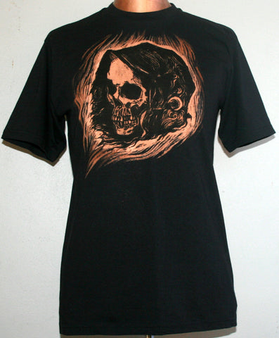Grim Reaper T-Shirt - Black (Medium)