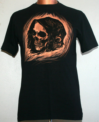 Grim Reaper T-Shirt - Black (Small)