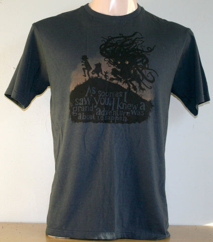 Grand Adventure T-Shirt - Navy (Small)