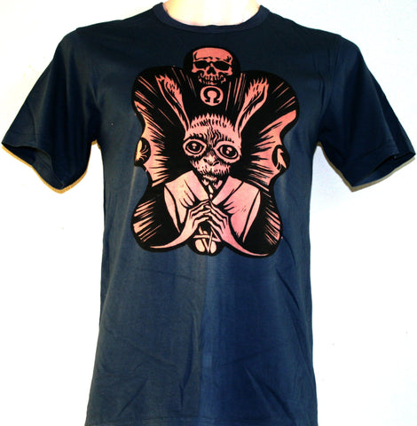 Occult Rabbit T-Shirt - Navy (Small)