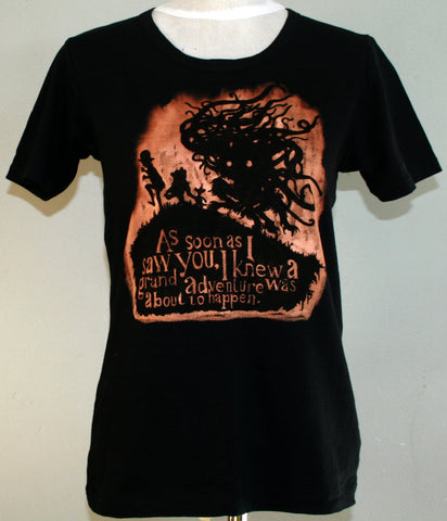 Grand Adventure T-Shirt - Black (Medium)