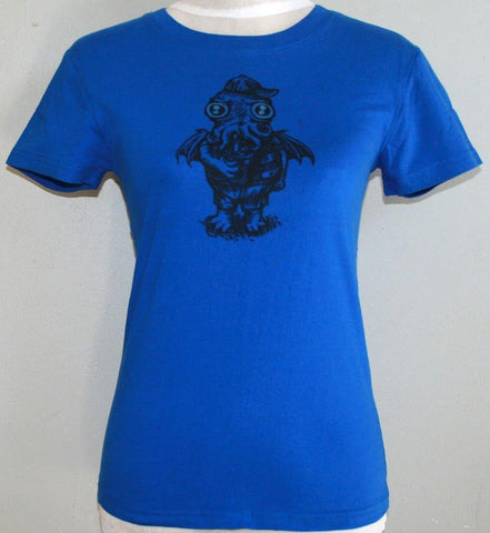 Kid Cthulhu T-Shirt - Blue (Medium)