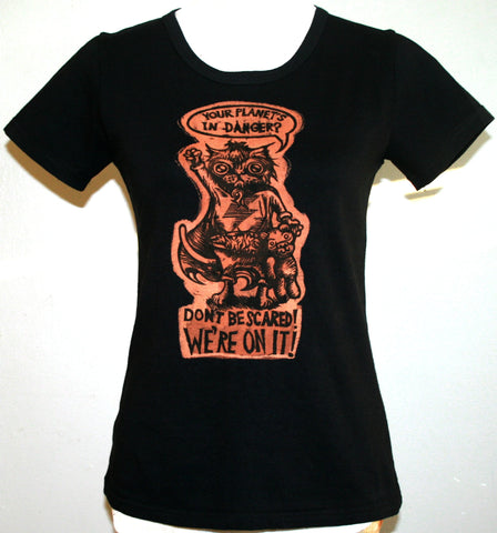Kit Courage T-Shirt - Black (Small)