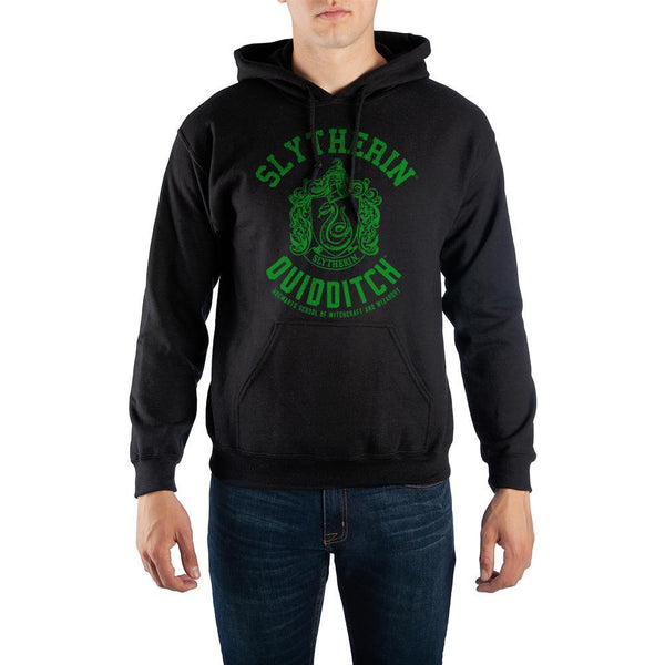 Harry Potter Slytherin Quidditch Hoodie Sweatshirt - huronshop1