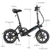 FIIDO D3 Electric Bike - huronshop1