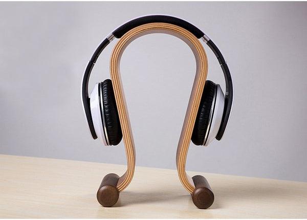 Bent Plywood Headphone Holder - huronshop1