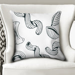 "Use Your Noodle Throw Pillow Case 20""x20"" 