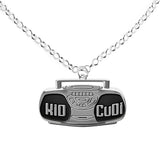 Kid Cudi Boombox Accessory | Womens Hip Hop Necklace | One Size OS Gift - huronshop1