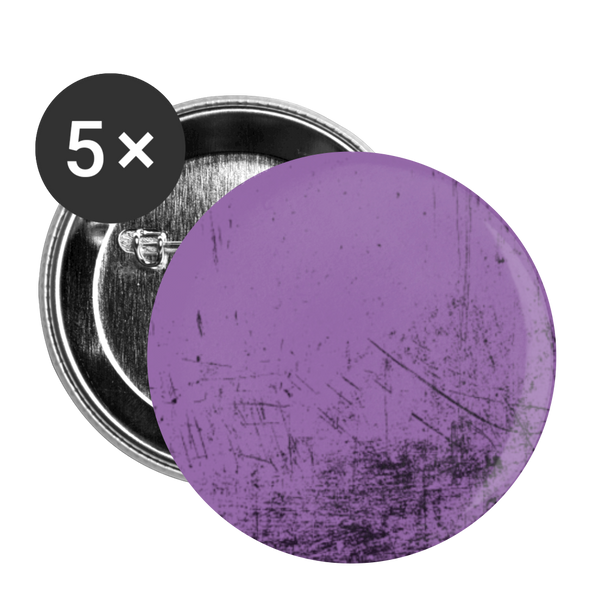 Purple Scratch - Buttons small 1'' (5-pack) - huronshop1