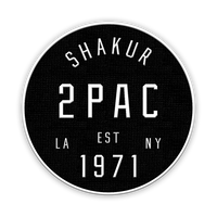 Tupac Shakur || Coast To Coast Patch || - huronshop1