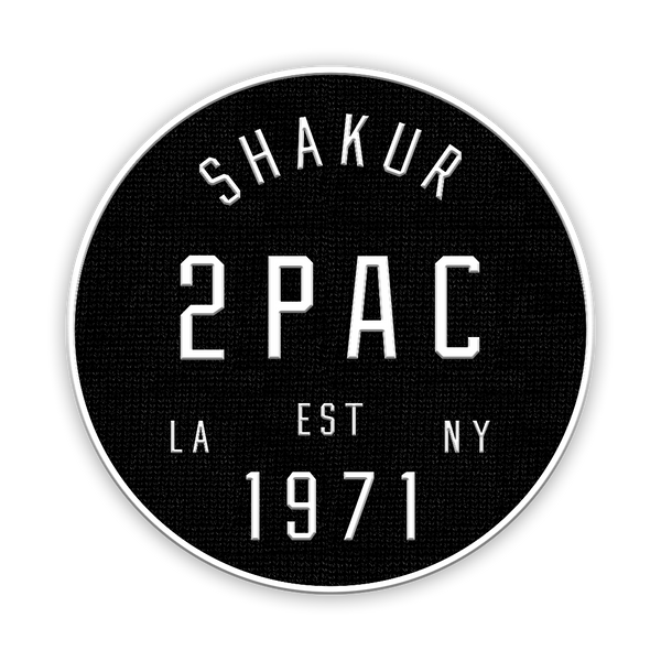 Tupac Shakur | Coast To Coast Patch - huronshop1