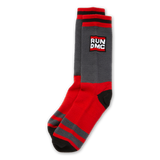 Run DMC Unisex Logo Socks || Black w/ Color Run DMC Hip Hop Socks || - huronshop1