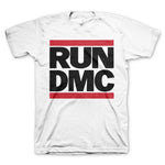 Run DMC Classic Logo T-Shirt || White Red Black Mens or Womens Run DMC Tee || - huronshop1