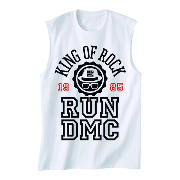 "Run DMC ""King Of Rock"" Muscle Tank 