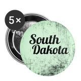 South Dakota Green Scratch - Buttons small 1'' (5-pack) - huronshop1