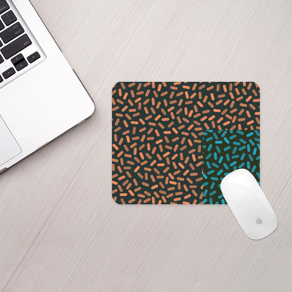 Color or Candy Bits Mouse Pad