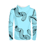 Bold Brain - Bright Noodle Kids Hoodie - huronshop1